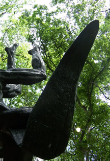 Icarus Sculpture by Charles Umlauf